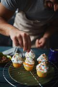 Culinary creation Stock Photos