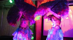 Two women dance in Holiday House and Hotel Avantel Club Istra Arkistovideo