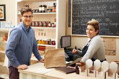 Making a new regular customer every day - stock photo