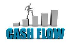 Cash flow - stock illustration