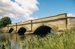 Ross bridge tasmania - stock photo