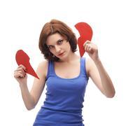 Young caucasian woman in her twenties - stock photo