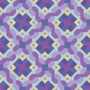 Geometric abstract pattern. Seamless vector background. Stock Illustration