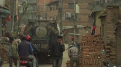 Nepal 1 Year After the Earthquake. Time for Reconstruction 4K - stock footage