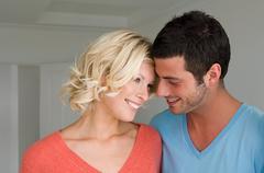 Intimate couple Stock Photos