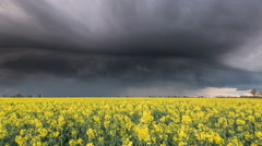 Storm Cell Time Lapse Stock Footage