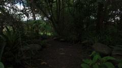 Stock Video Footage of A Quiet Park in Cuenca