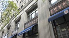 FEC Headquarters sign Washington, DC Stock Footage