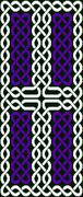 Celtic knot cross Stock Illustration