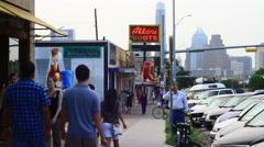 Congress Avenue - Austin, TX - 002 Stock Footage