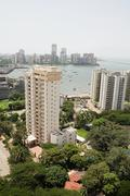 Cityscape of mumbai Stock Photos