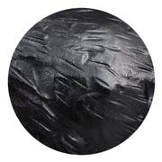 ball from black coat Anthracite isolated - stock photo