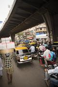 Traffic in mumbai Stock Photos