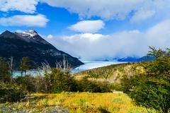 Perito Moreno Glacier in the Los Glacier National Park Stock Photos