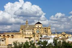 Mezquita Mosque Cathedral in Cordoba - stock photo