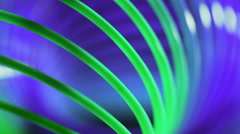 Abstract lines background/Abstract background/Green and blue line background Stock Footage