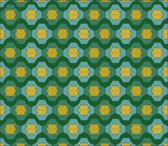 Fabric pattern - stock illustration