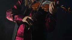 Violin Violinist music musician classical entertainment fiddler instrument - stock footage