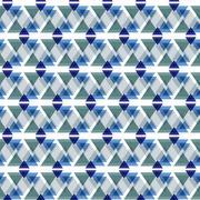 Abstract geometric seamless pattern - stock illustration