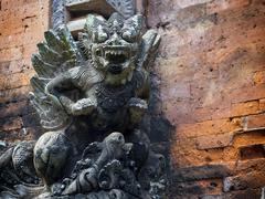 Balinese Mythological Demon Statue in Ubud, Bali, Indonesia Kuvituskuvat