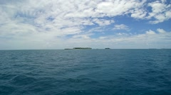Rasdhoo atoll. - stock footage