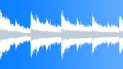 Uplifting Piano Motivation Short Loop - stock music