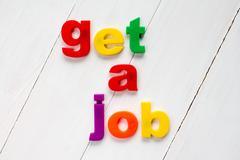 Get a job Stock Photos