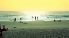 Sunset at Beach, Florida, Stock Footage