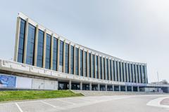 "National Palace of Arts ""Ukraina"" Stock Photos"