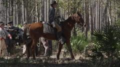 Civil War Olustee Stock Footage