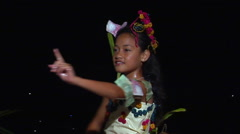 Tongan girl traditional dancing, people or person in shot, HD, UP15547 Stock Footage