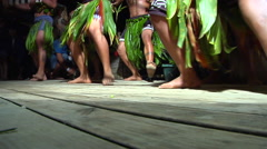 Tongan feet dancing, people or person in shot, HD, UP15570 Stock Footage