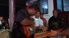 Tongan band, people or person in shot, HD, UP15849 Stock Footage