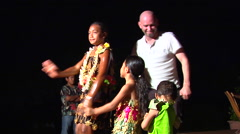 Tongan kids dancing, people or person in shot, HD, UP15851 - stock footage