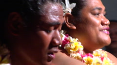 Tongan dancers, people or person in shot, HD, UP15855 Stock Footage