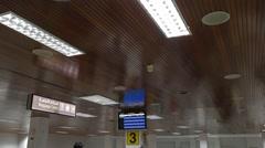 Muscat International Airport Luggage Claim Area - stock footage