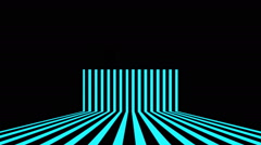Vj Loops Animation Stripes Art Lines Visual Sample Stock Footage