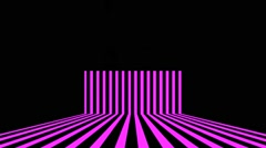Vj Loops Purple Animation Stripes Art Lines Visual Sample Stock Footage