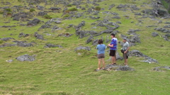 Tourists at the rock garden, people or person in shot, HD, UP16099 Stock Footage