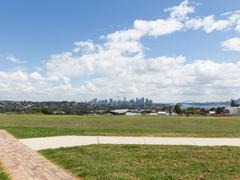 Sydney, view of the city from afar - stock photo