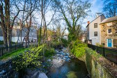 A small creek in Ellicott City, Maryland. Kuvituskuvat