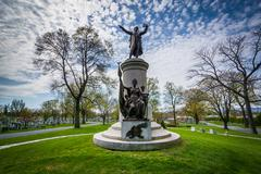 The Francis Scott Key Burial Site at Mount Olivet Cemetery in Frederick, Mary Stock Photos