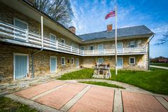 The Hessian Barracks, in Frederick, Maryland. Stock Photos