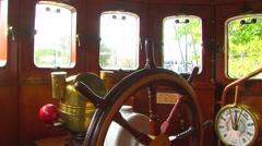 Pilothouse apparatus - stock footage