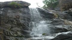 Mae Klang waterfall, Doi Inthanon national park, Chiang Mai, Thailand, - stock footage