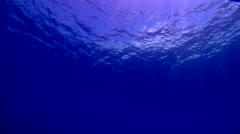 Ocean scenery surface from below, in bluewater, HD, UP17738 - stock footage