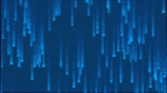 Japan Matrix background Stock Footage