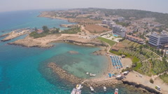 Stock Video Footage of the beaches of the island of Cyprus
