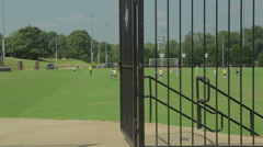 Summer Soccer Camp Playing Stock Footage