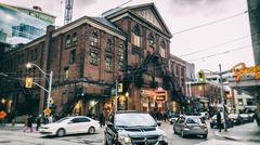 Massey Hall Concert Hall Toronto - stock photo